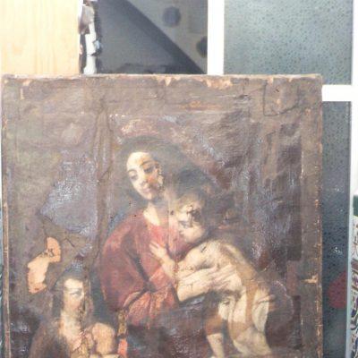restauracion lienzos
