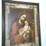 Lienzo San José siglo XVll