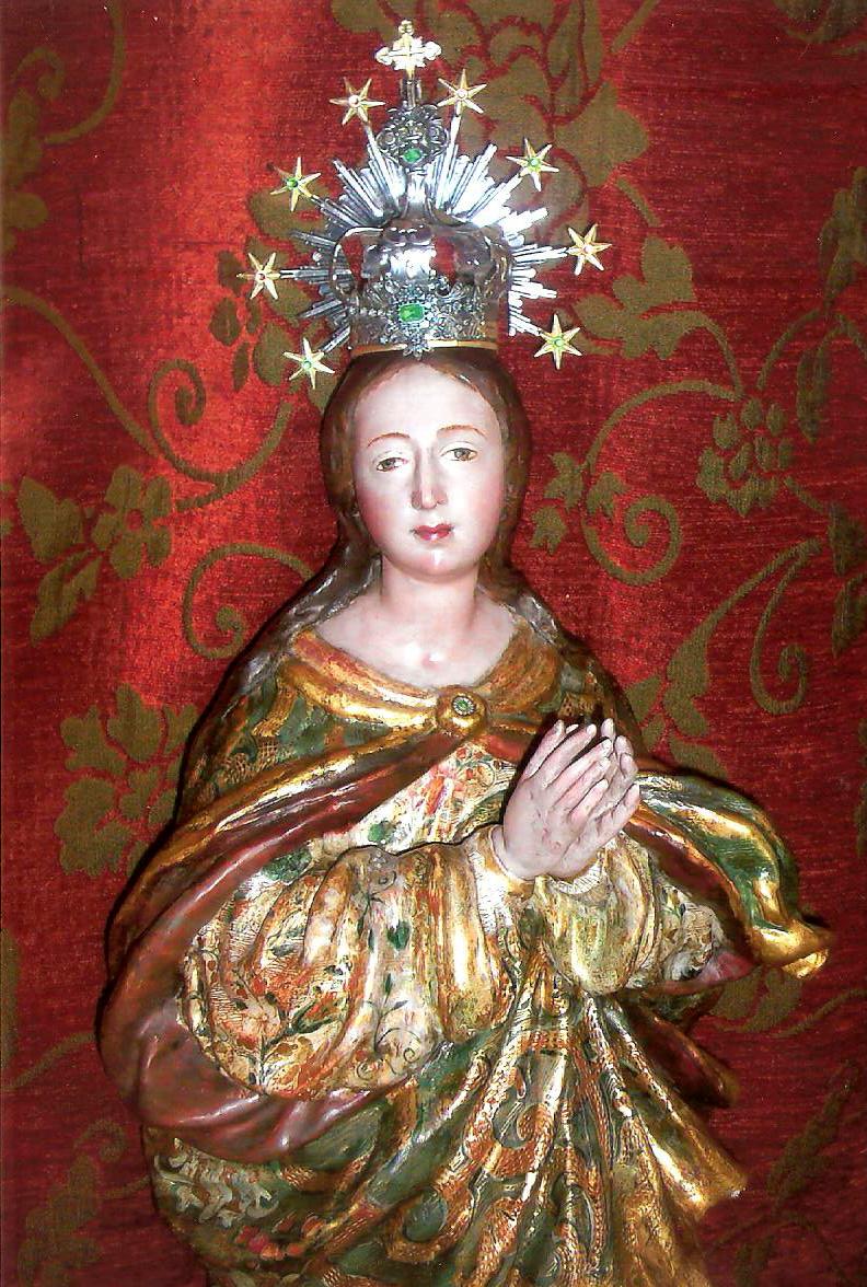 Inmaculada siglo XVII  L. Roldán