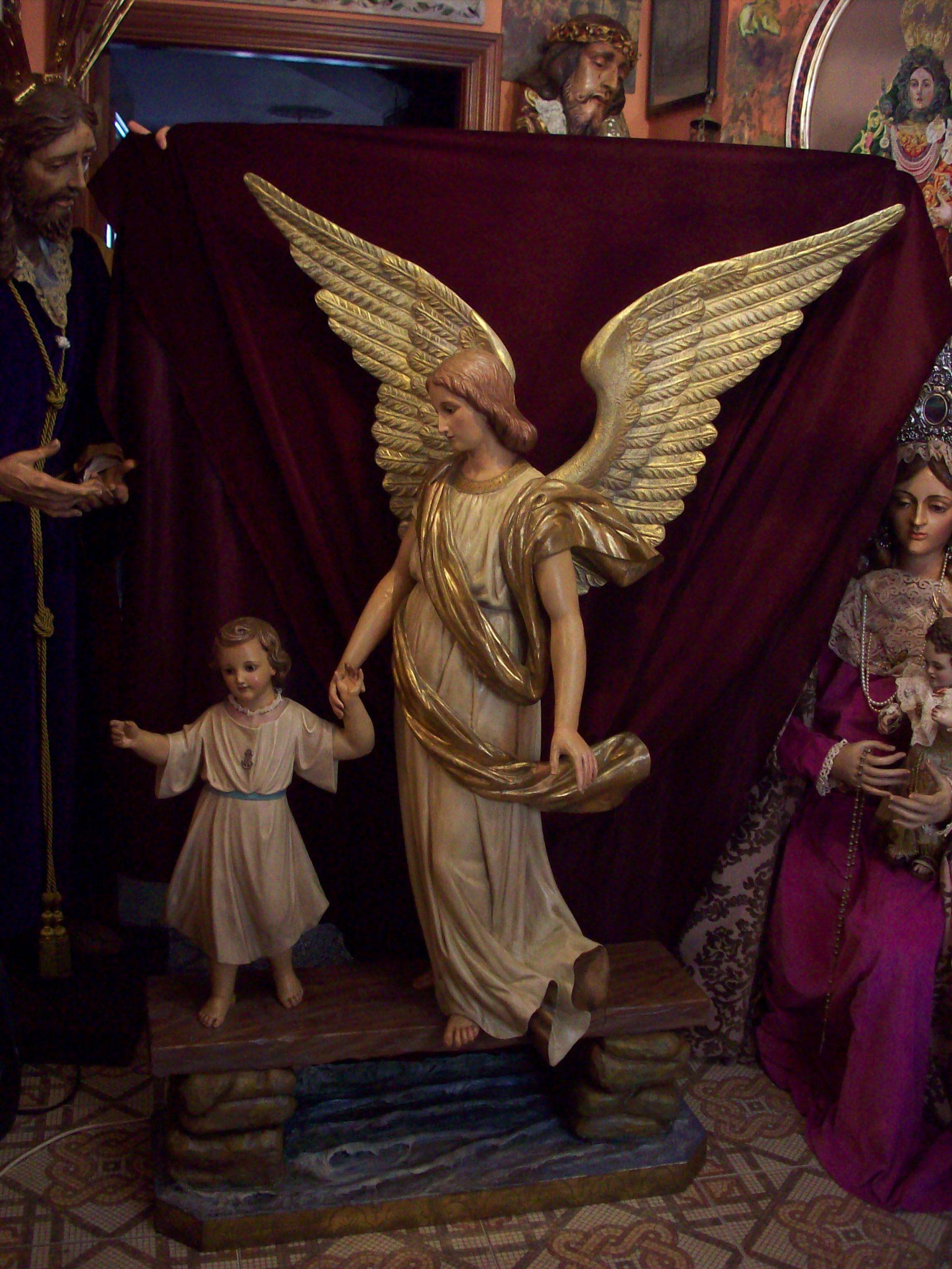 Ángel de la Guarda siglo XIX