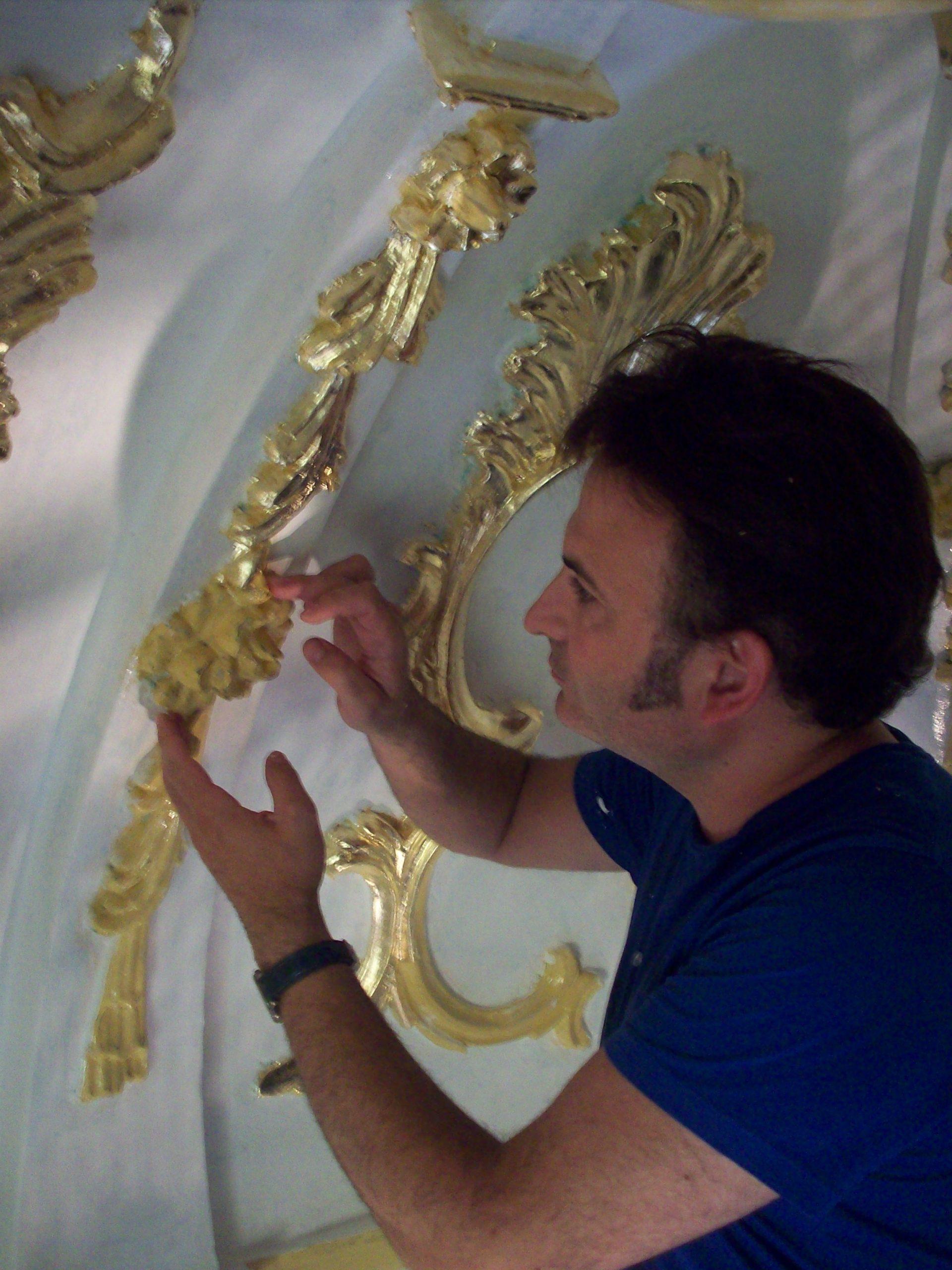 Restauración Camarín siglo XVIll y nueva decoración