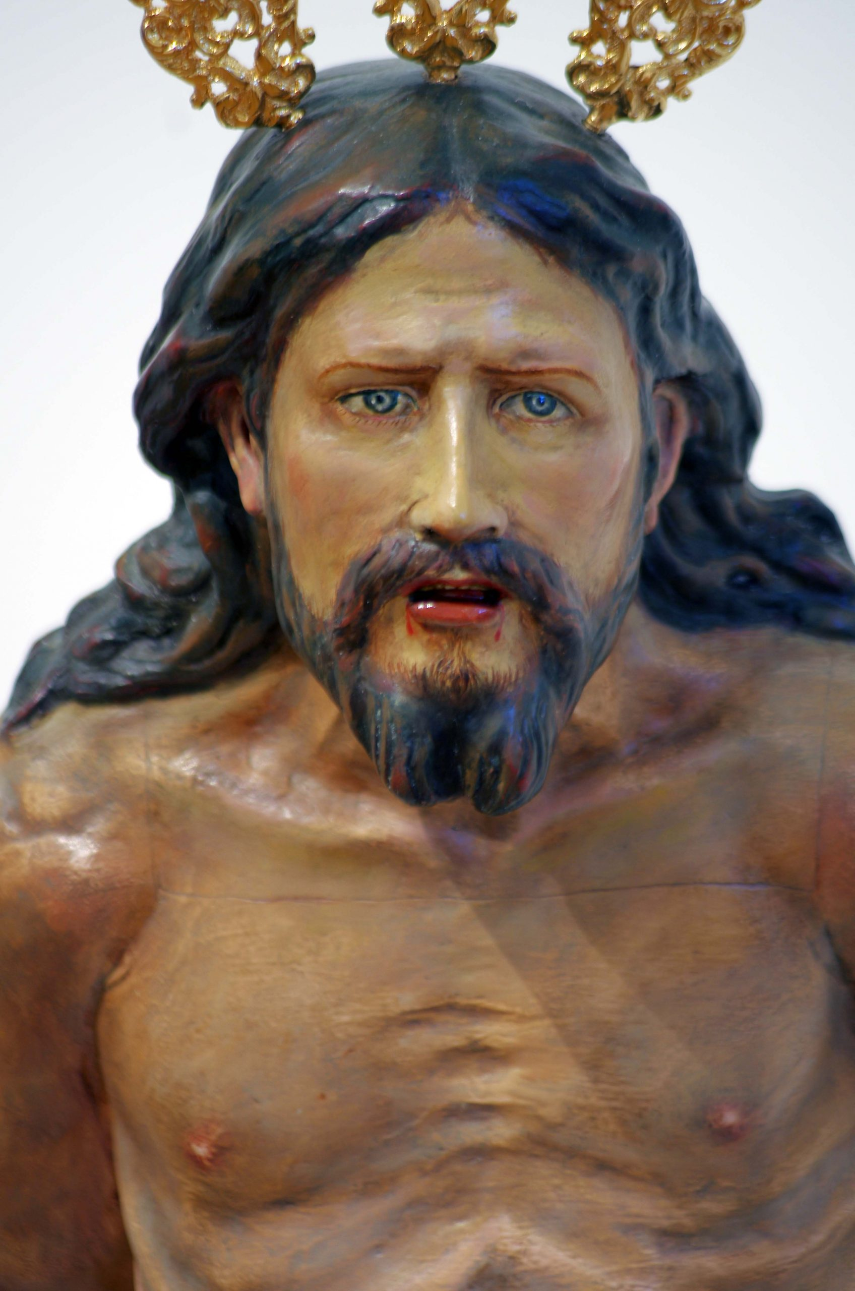 Jesús Amarrao a la Columna