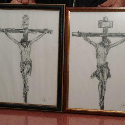 Dibujo Crucificados